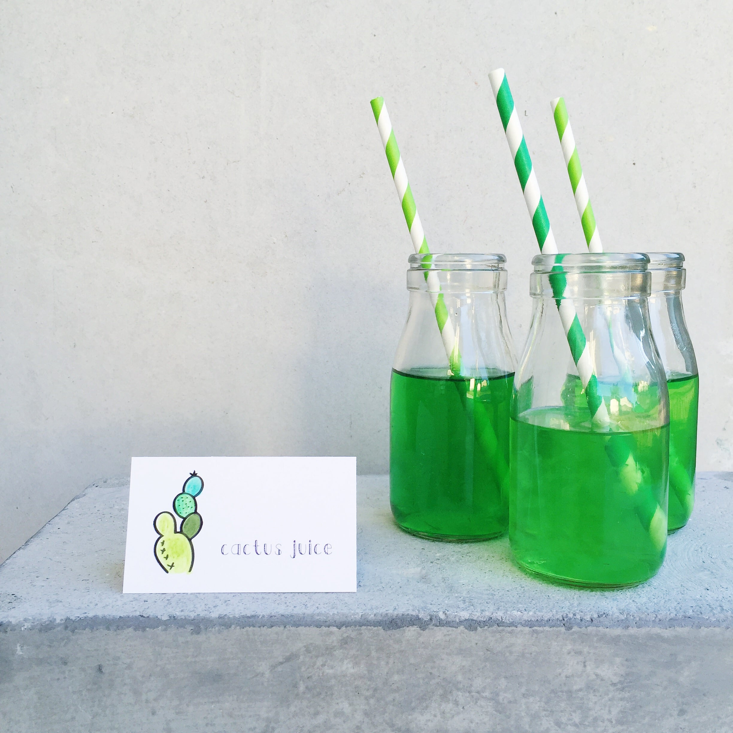 cactus juice and table tag | mrtimothyjames