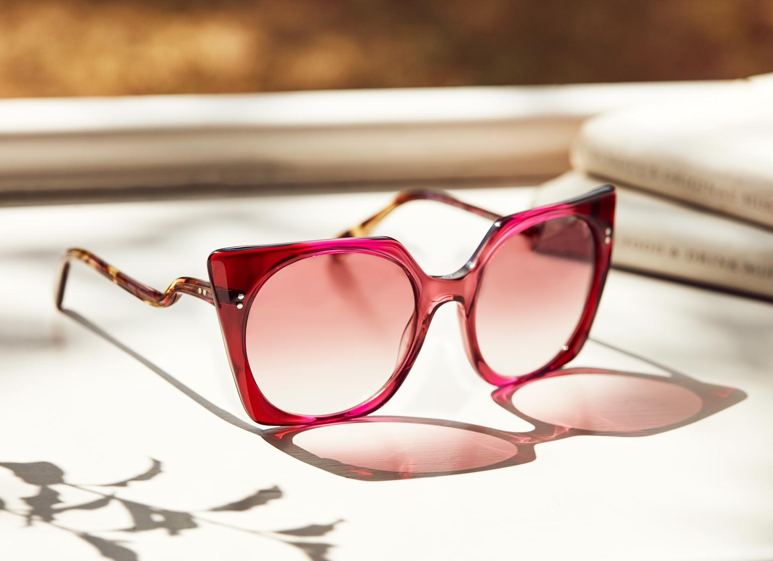 womens walter and herbert sunglasses lifestyle still life kirsty owen