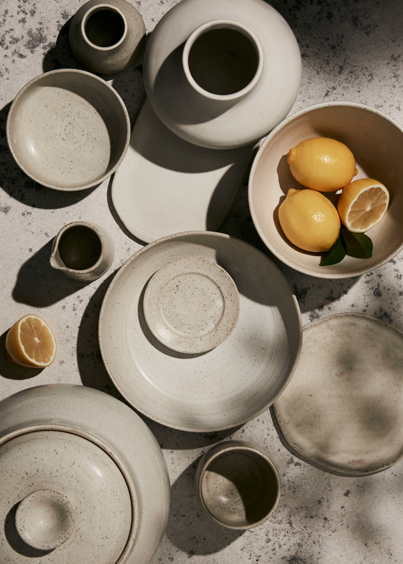 summer pottery still life kirsty owen photography