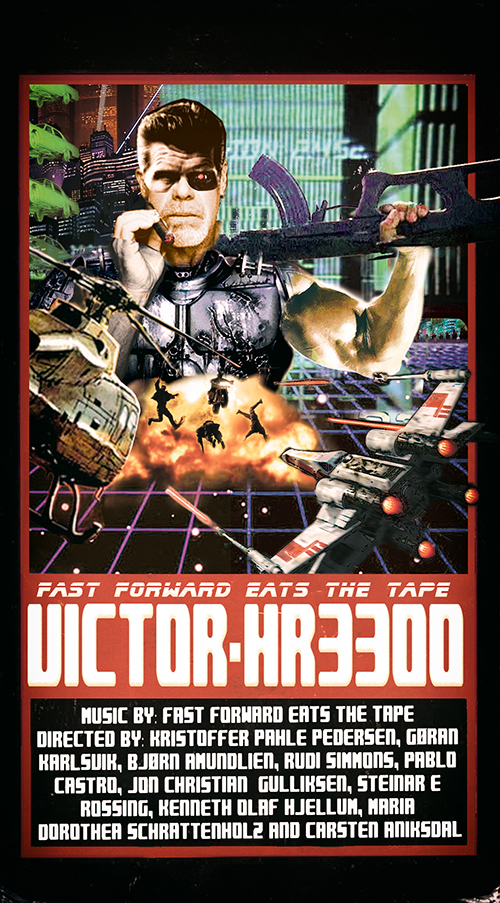 Fast Forward Eats The Tape - Victor HR-3300 | VHS | 33min | PAL
