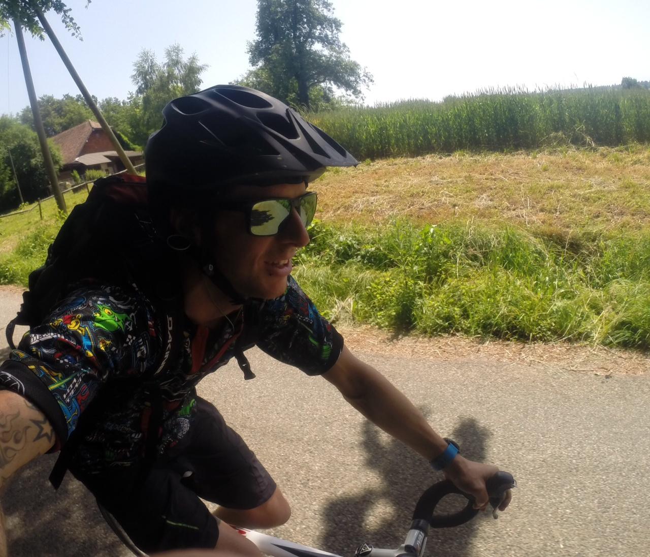 168 km von Burgistein nach Murgenthal und zurück.