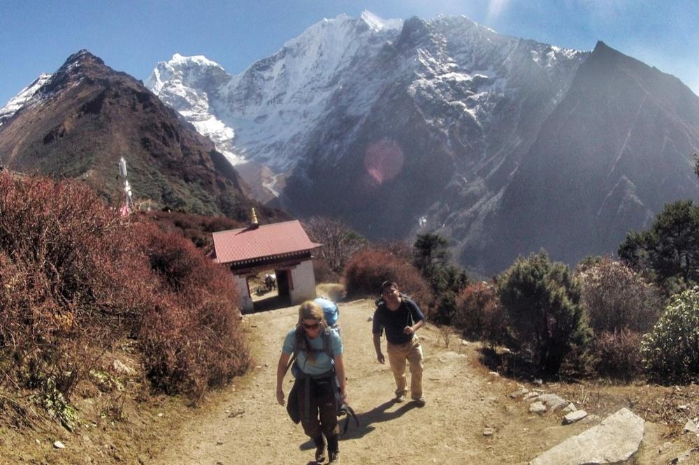 Brigitte Daxelhoffer und Ash Gurung
