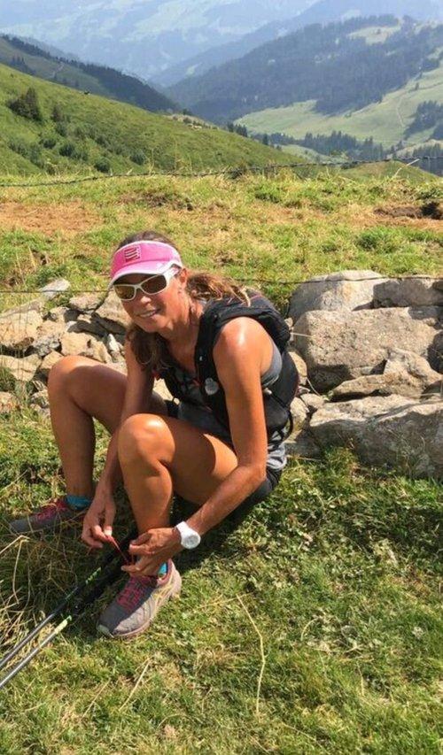 Anni Anhorn - Ultra Trail Läuferin und ihr Spitzname ist Schwester Anni.Läuft Teilstrecken.