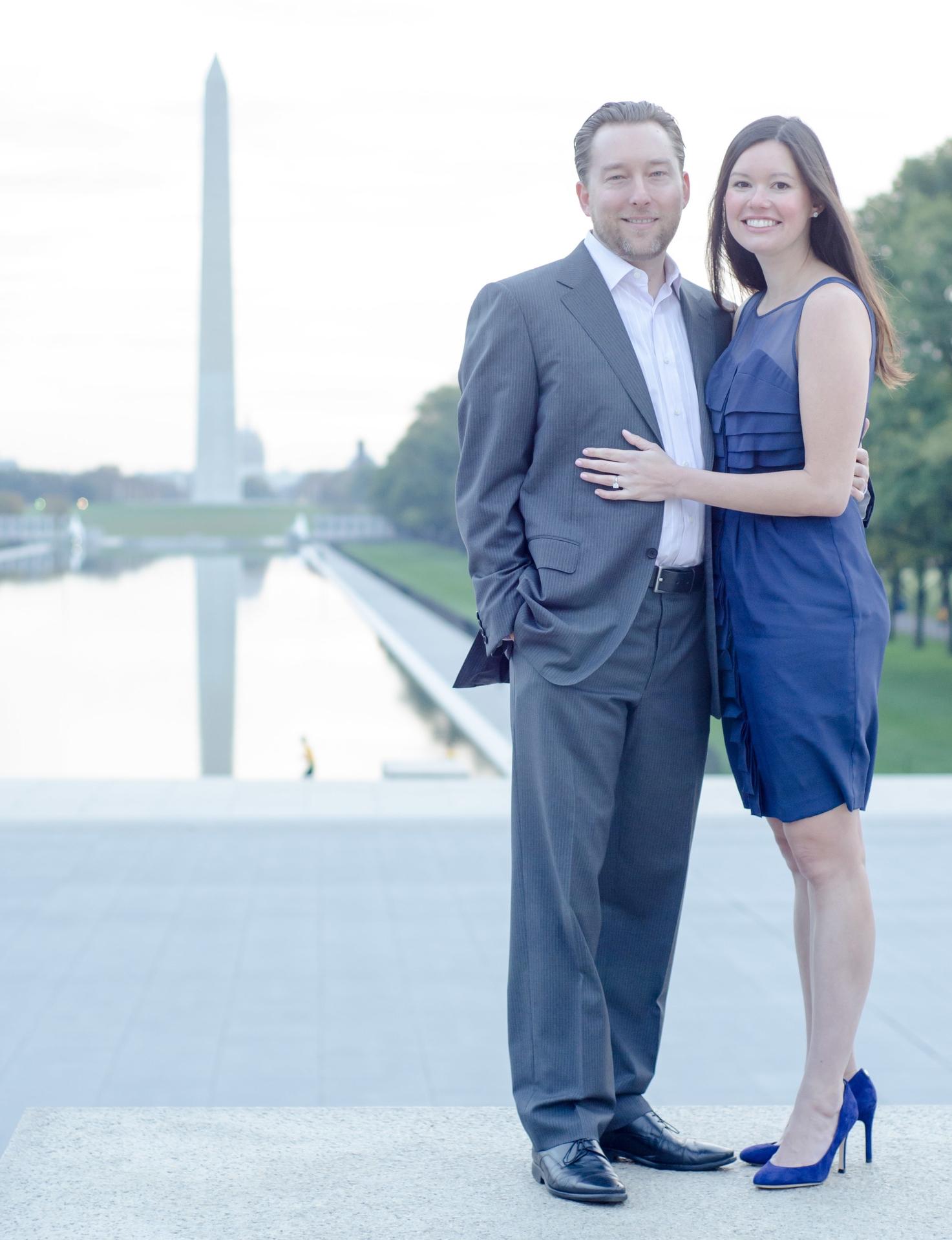 Washington Monument Engagement Shoot - NickMcKetaPhoto.com