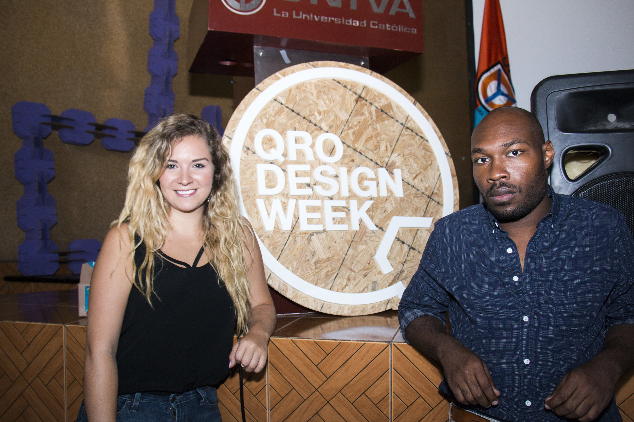 QRO DESIGN WEEK - Keynote speaker along with CJ Johnson at QRO Design Week in Queretaro, Mexico.