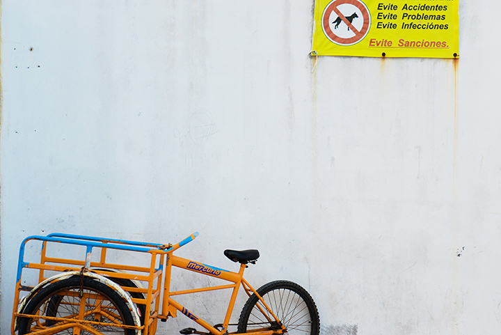 These bikes. This sign. :)