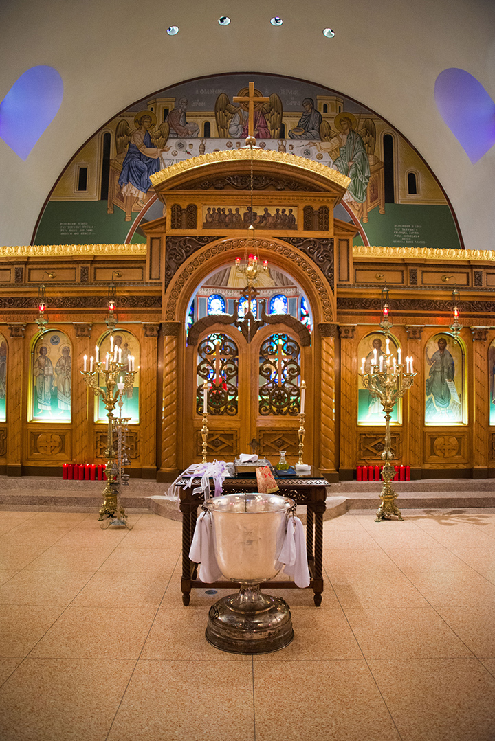 I also did a Christening at the Greek Orthodox Church on Race Street in Charleston. I highly recommend a visit here. It is alive with color.