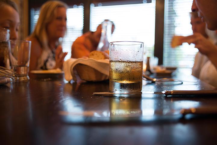 A side of bourbon. mmmmmm