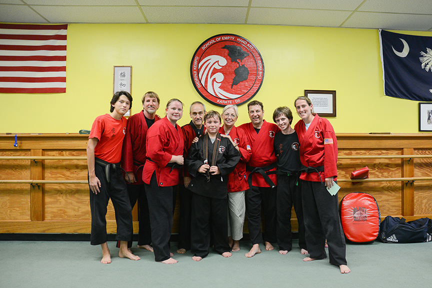 Our INCREDIBLE karate family.