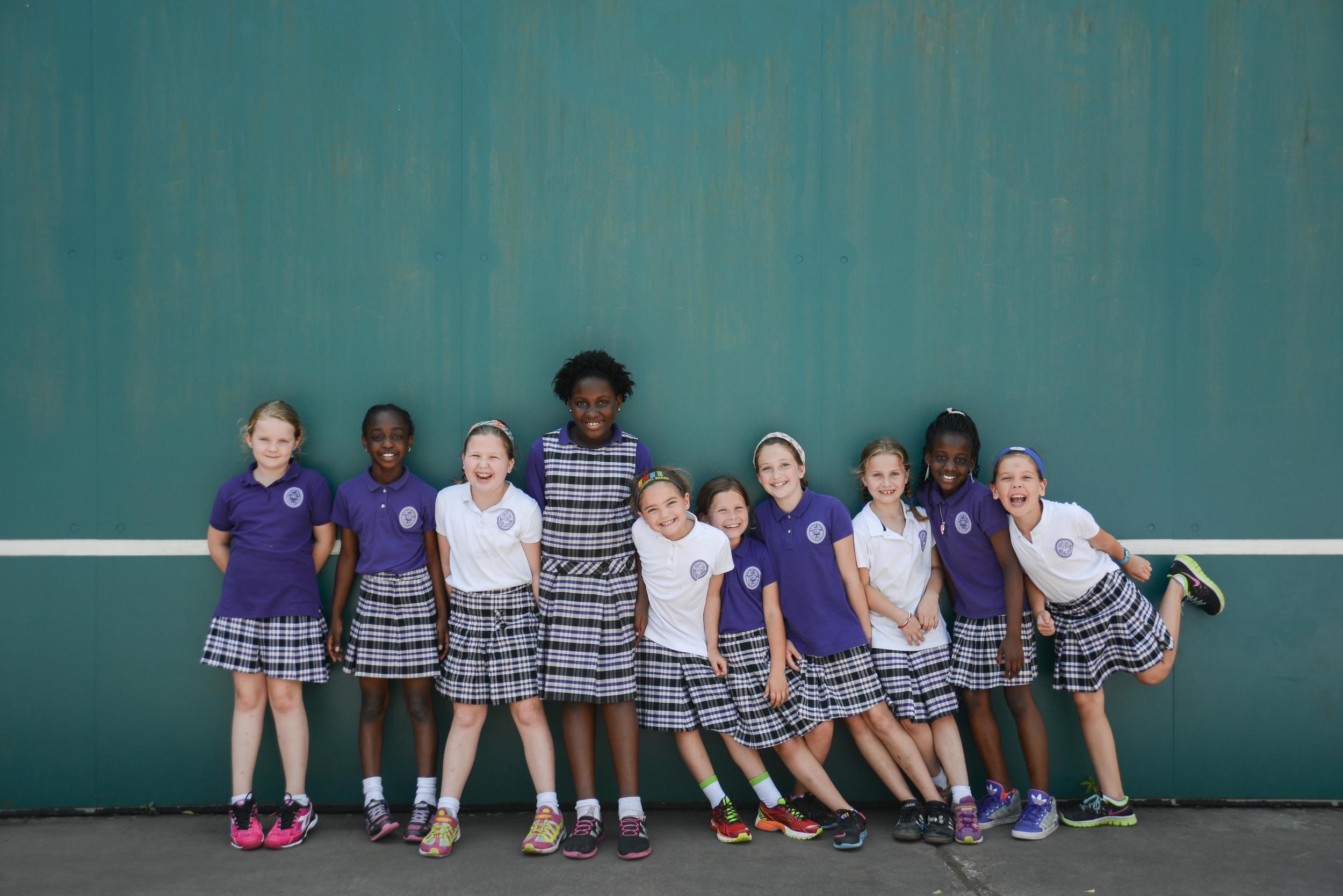Ashley Hall School, spring magazine shoot