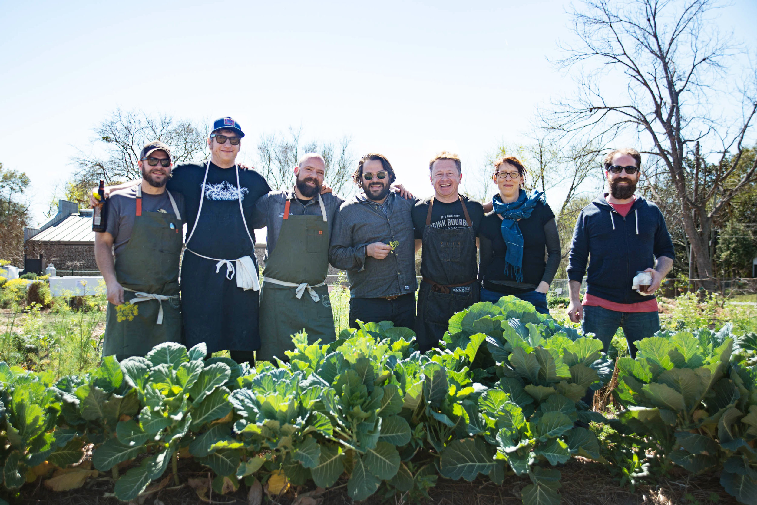 Fresh Future Farm event for the Charleston Wine + Food Festival, 2017