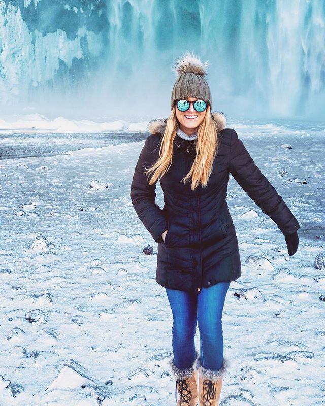 Chasing waterfalls in Iceland ✨ 📸: @kristinsluyk