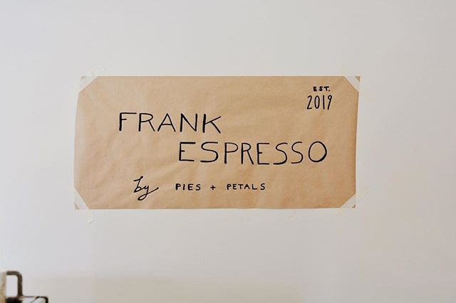 Introducing... frank espresso! a mobile coffee experience with plans to party with you come summer 2019. follow along the build out journey at @frank.espresso!