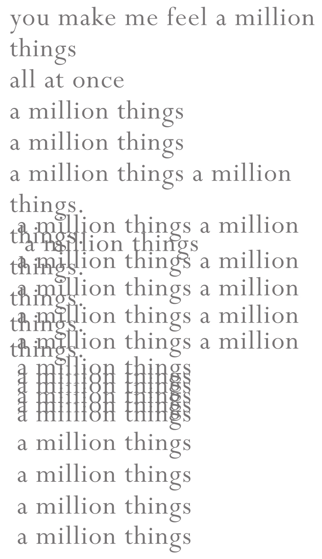 AMillionThings