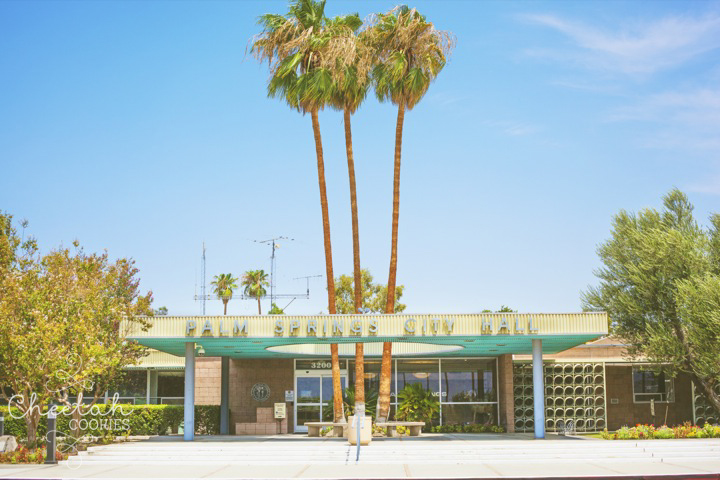 I was in love with all the modern architecture in Palm Springs.