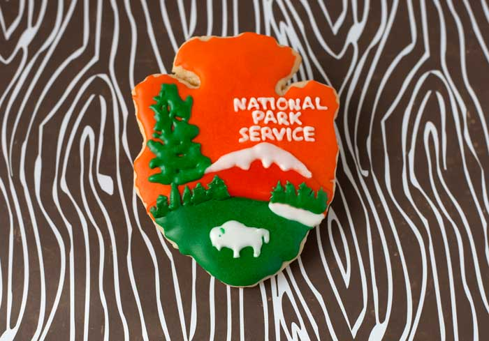 National Park Service Cookie
