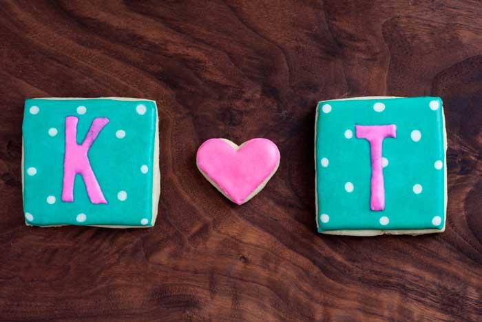 K loves T Cookies