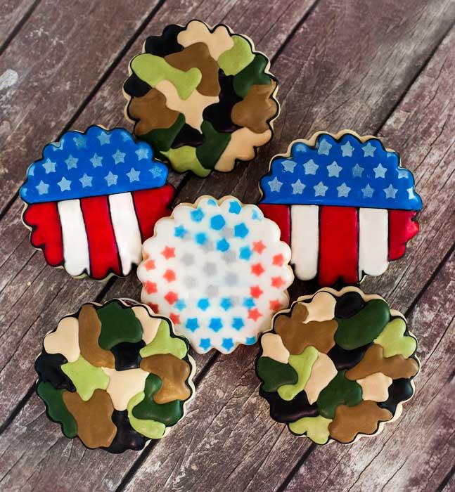 © Veterans Day Cookies