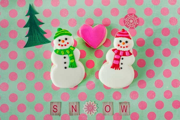 Snowpeople Cookies