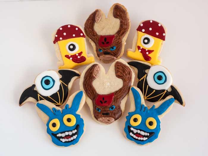 © Skylander Character Cookies