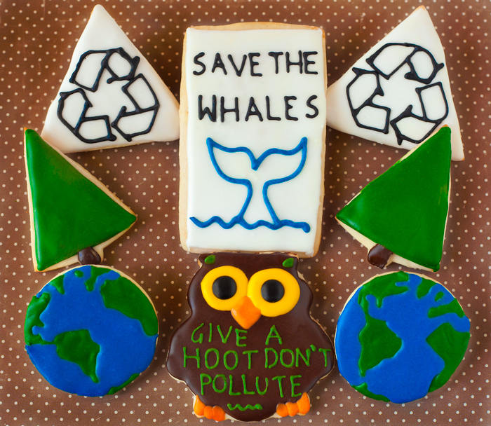 © Earth Day Cookies