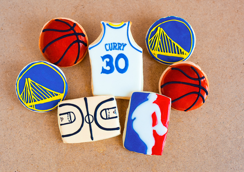 © NBA Champion Cookies