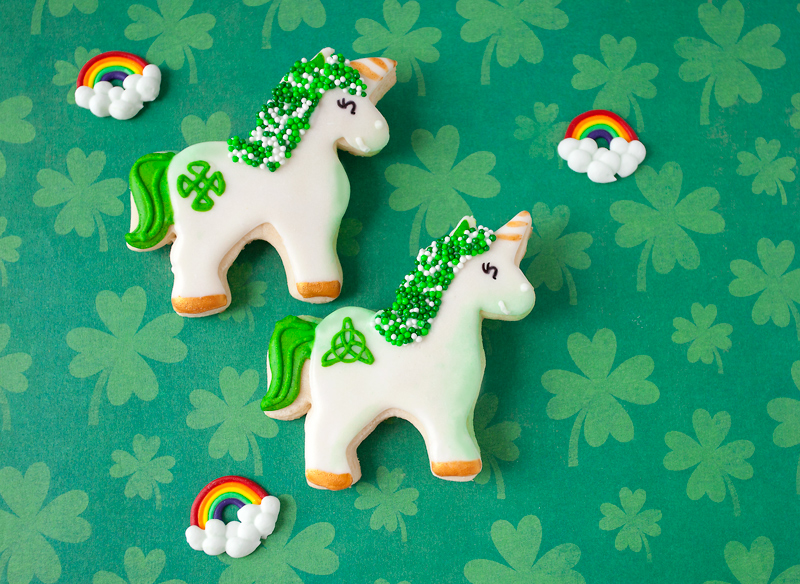 © Irish Unicorn Cookies