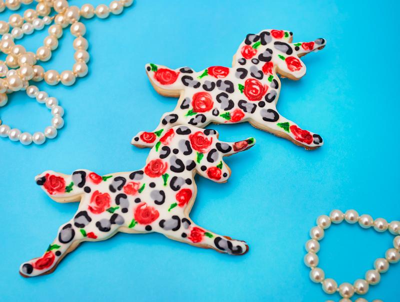 © Cheetah Pront Unicorn Cookies