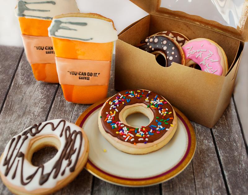 © Coffee and Doughnut Cookies