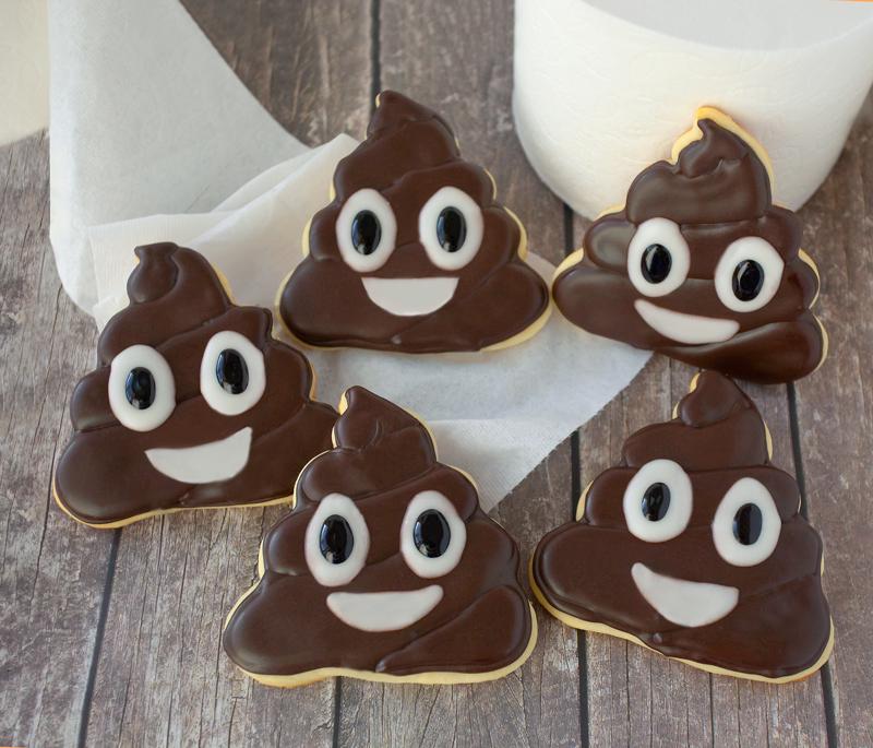 © Poo Emoji Cookies