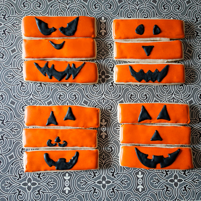 © Pumpkin Stick Cookies