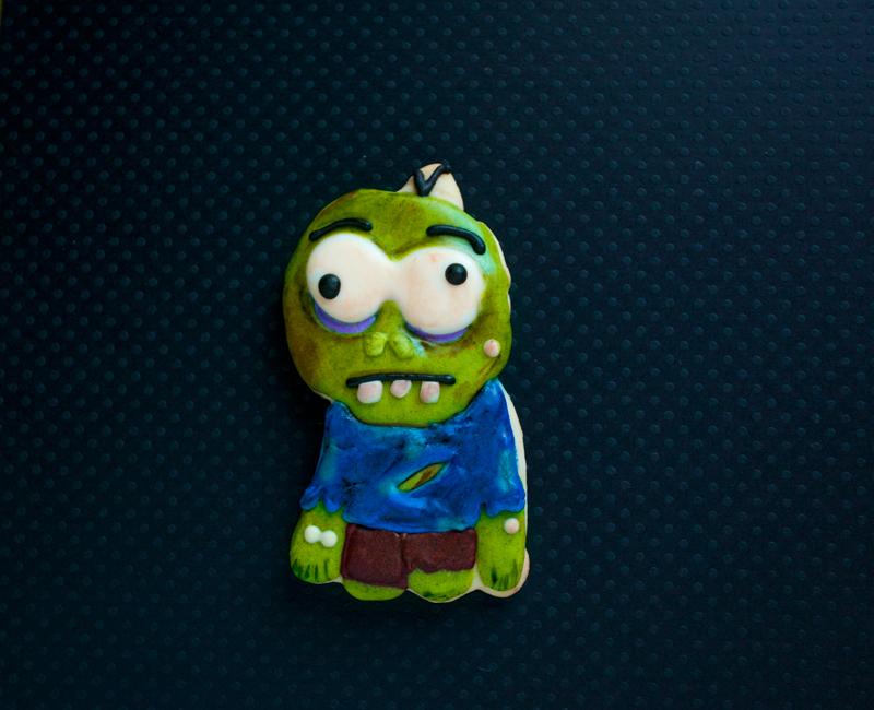 © Mystery Shape Monday - Zombie Cookie
