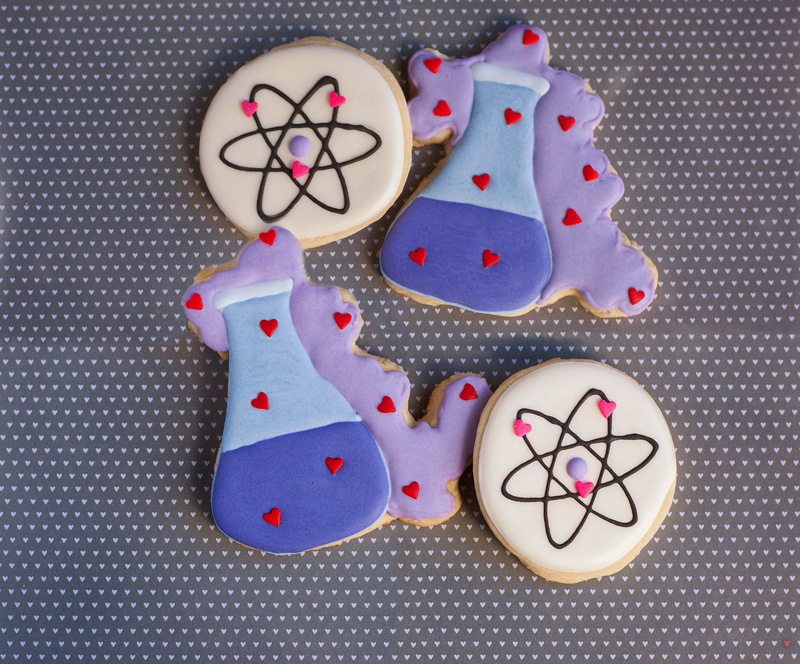 ©  Let's Experiment Valentine Cookies