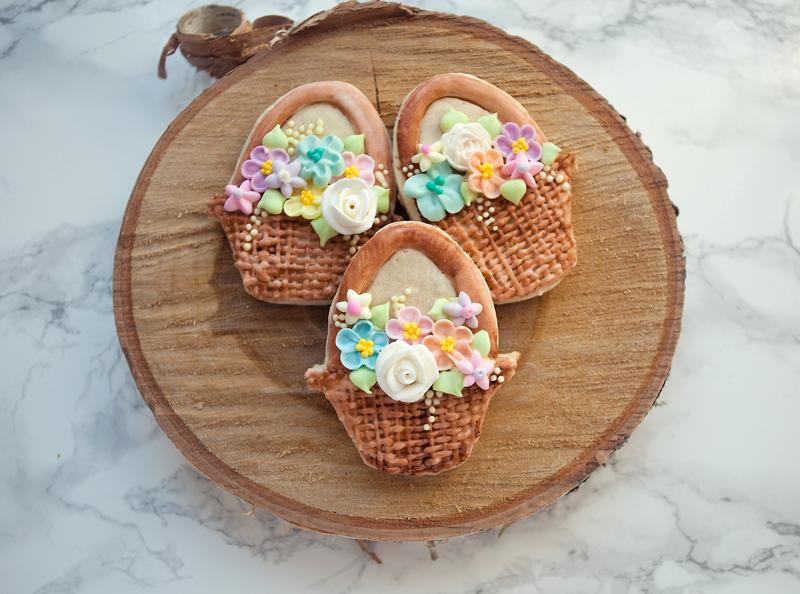 © Easter Baskest cookies