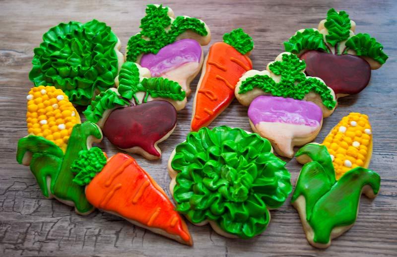 © Vegetable Cookies