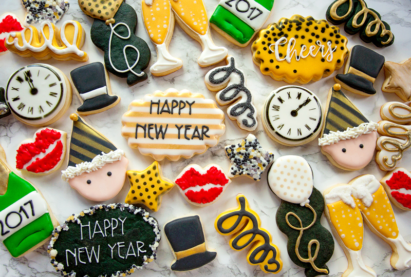 © New Year's Eve Cookies