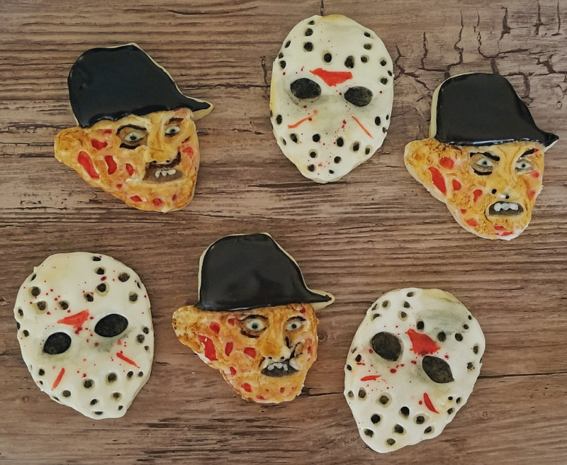 Freddy vs Jason cookies