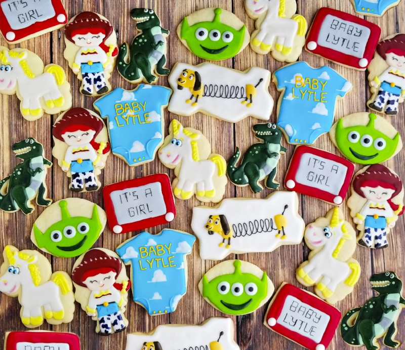 © Toy Story Baby Shower Cookies