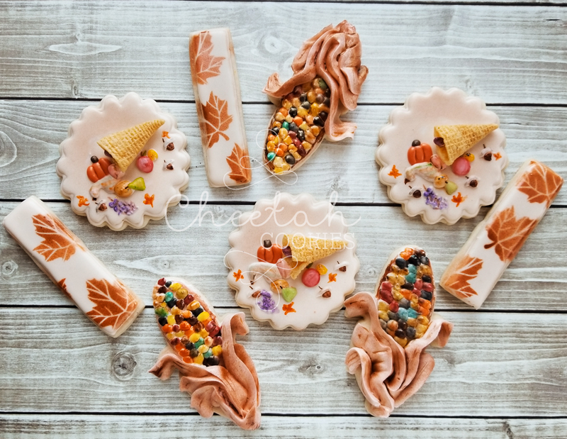 © Pretty Thanksgiving Cookies