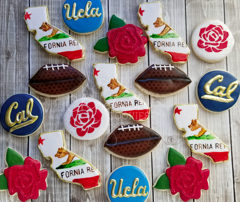 © Thanksgiving Football Cookies
