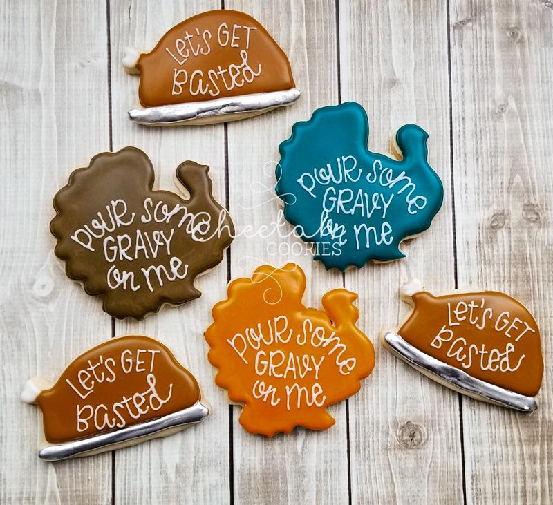 © Fun Thanksgiving Cookies