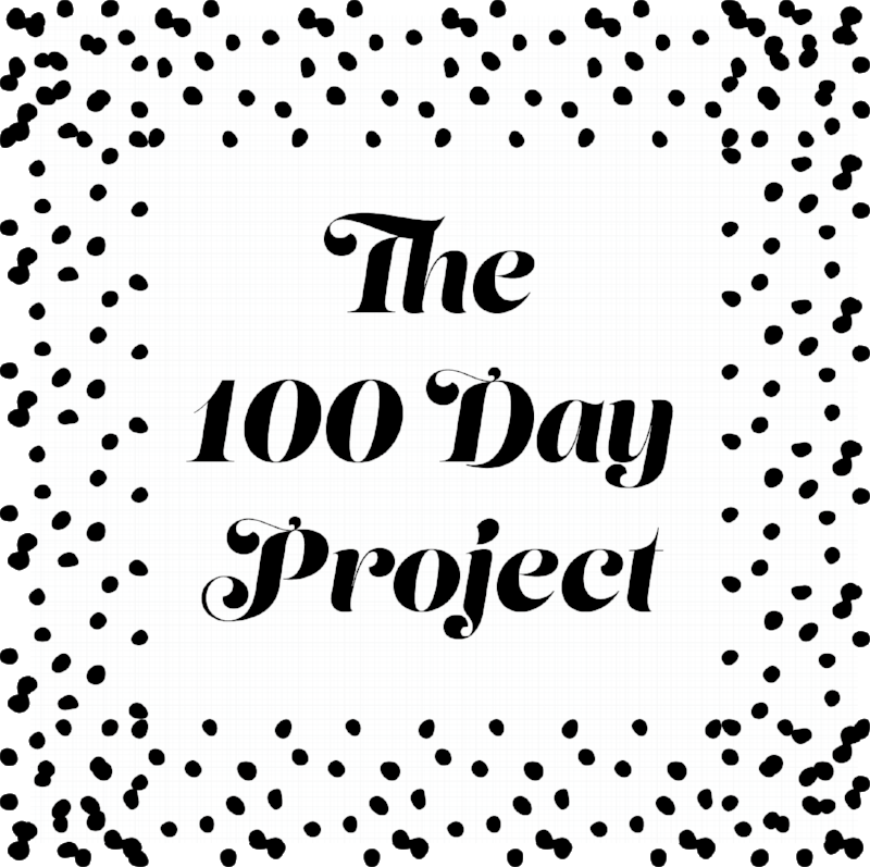 © 100 Day Project graphic