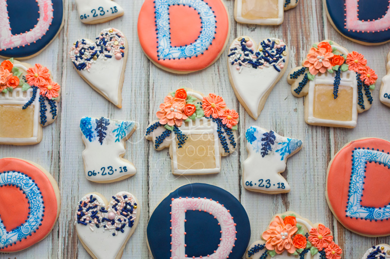 © Danielle's Wedding Cookies