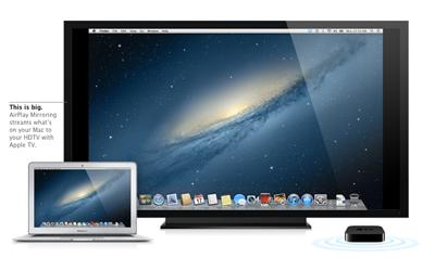OSX Mountain Lion AirPlay