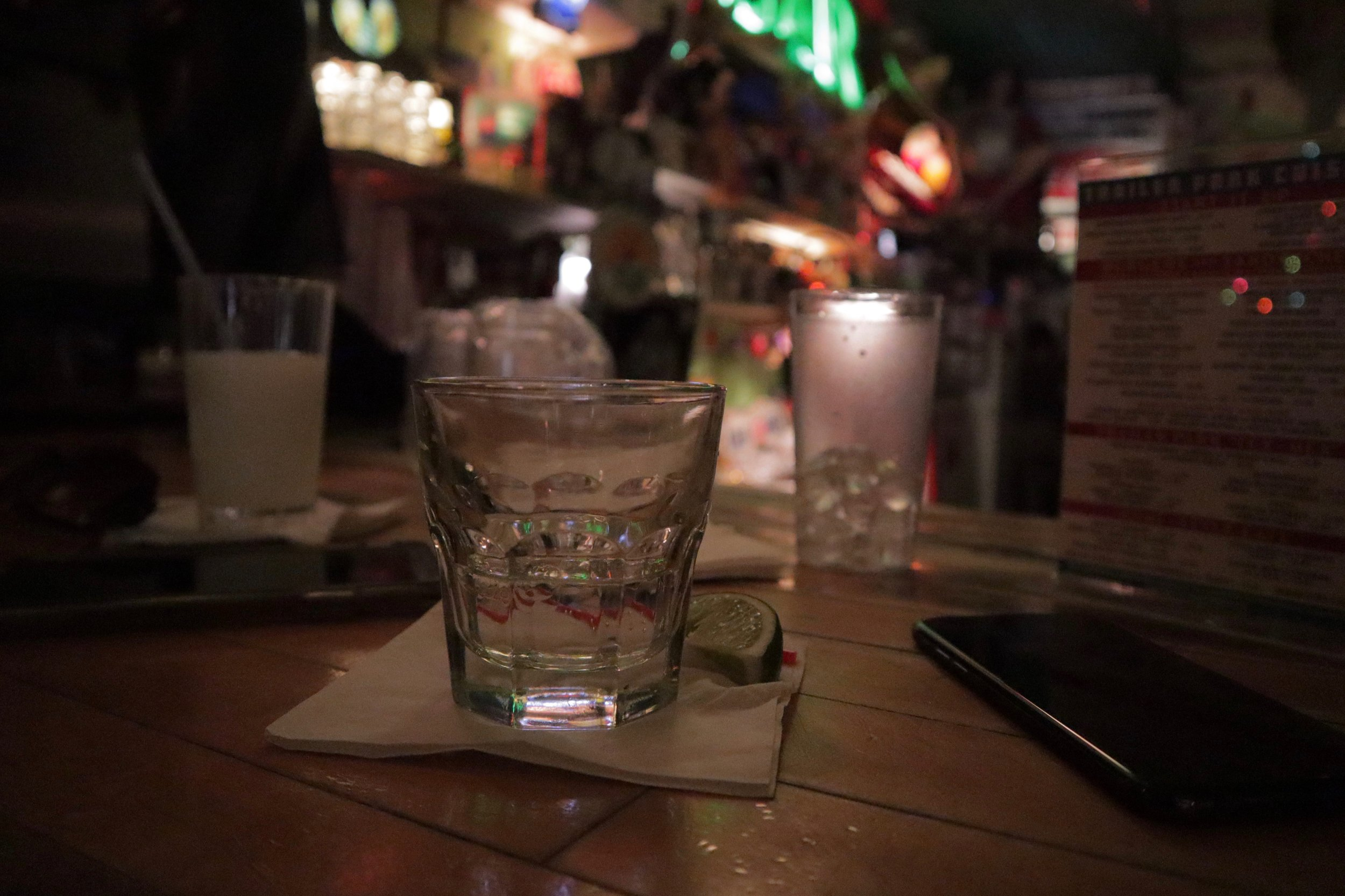A Gin & Tonic in New York