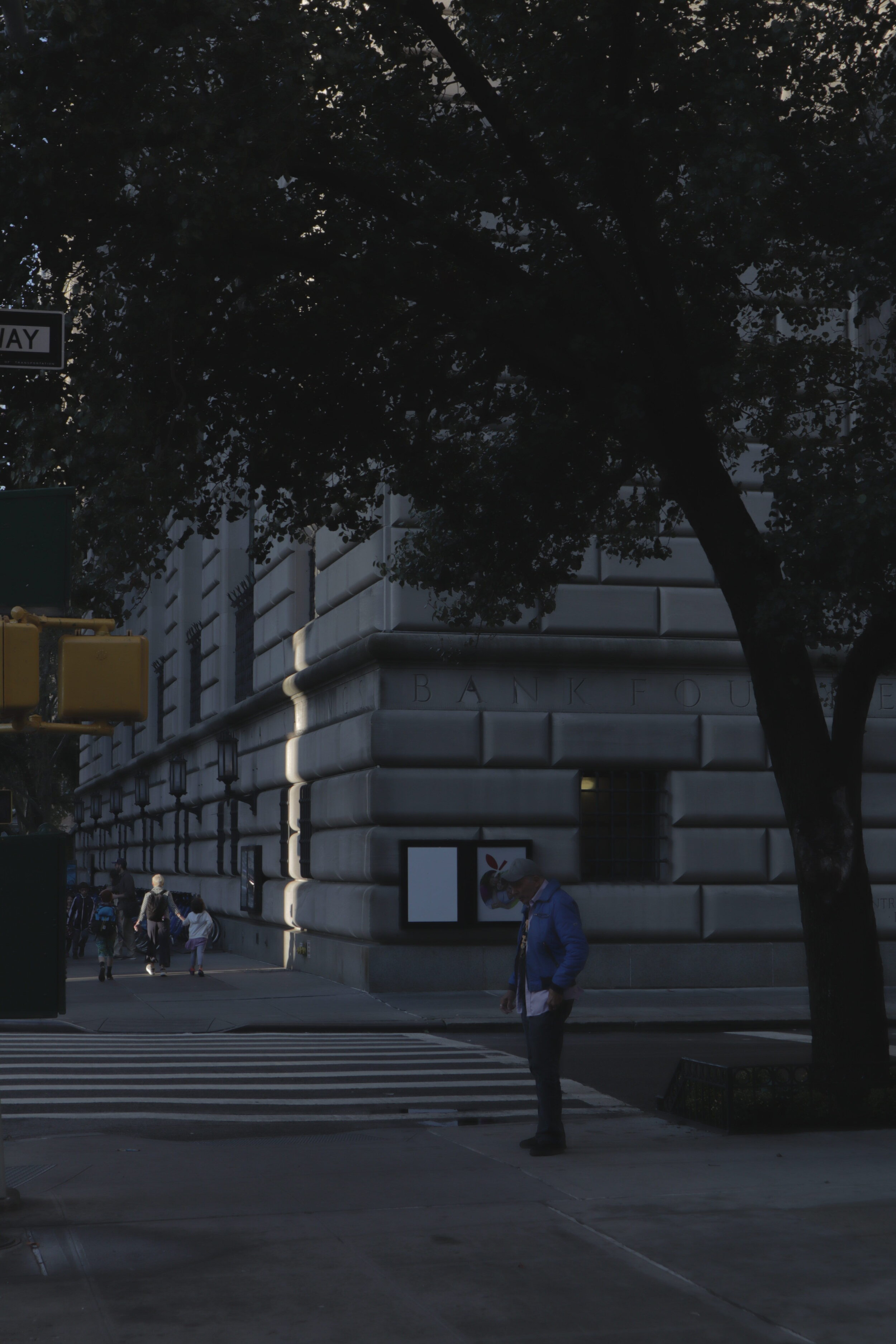 A slice of light in New York