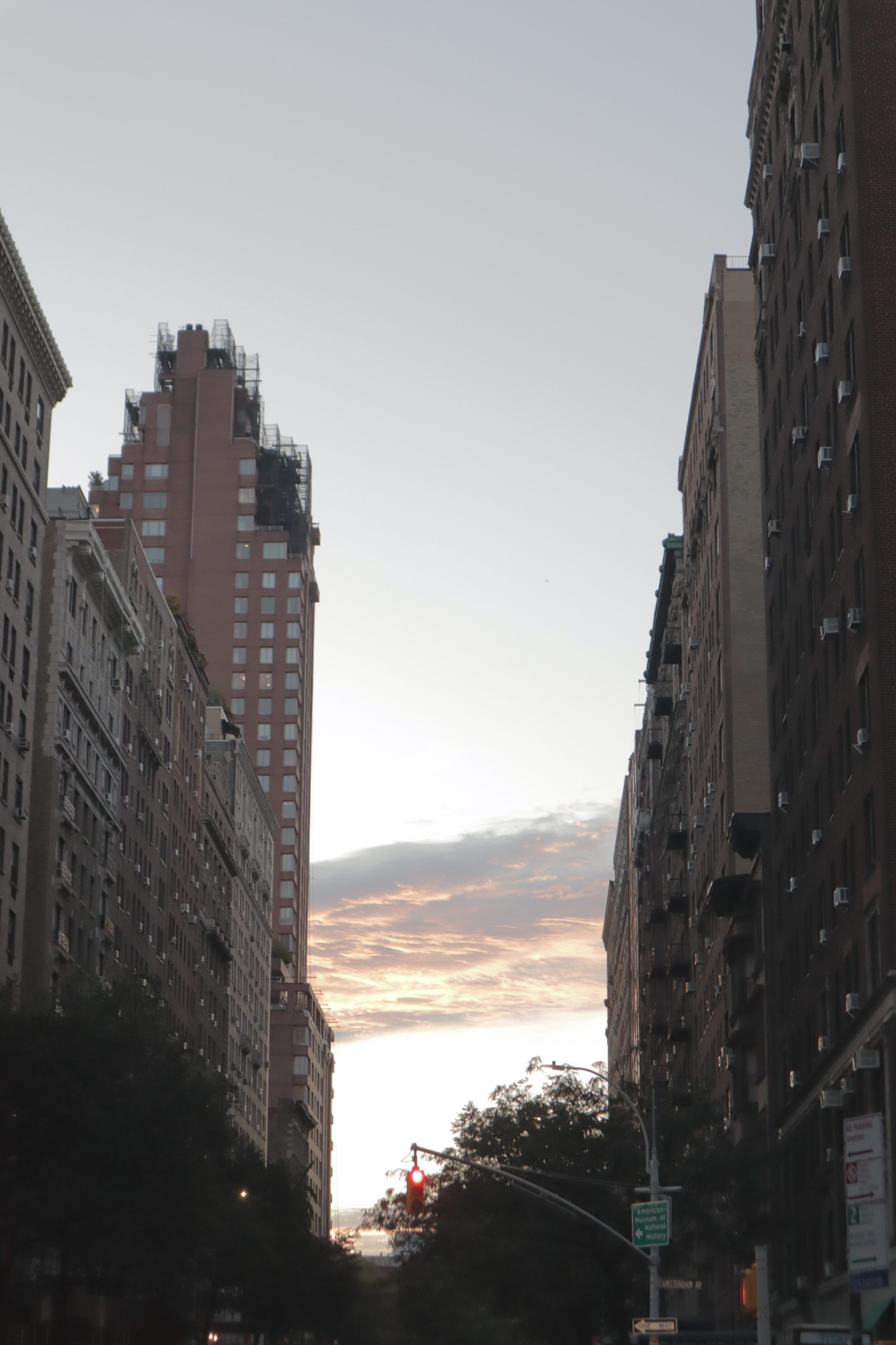 Sunrises in New York