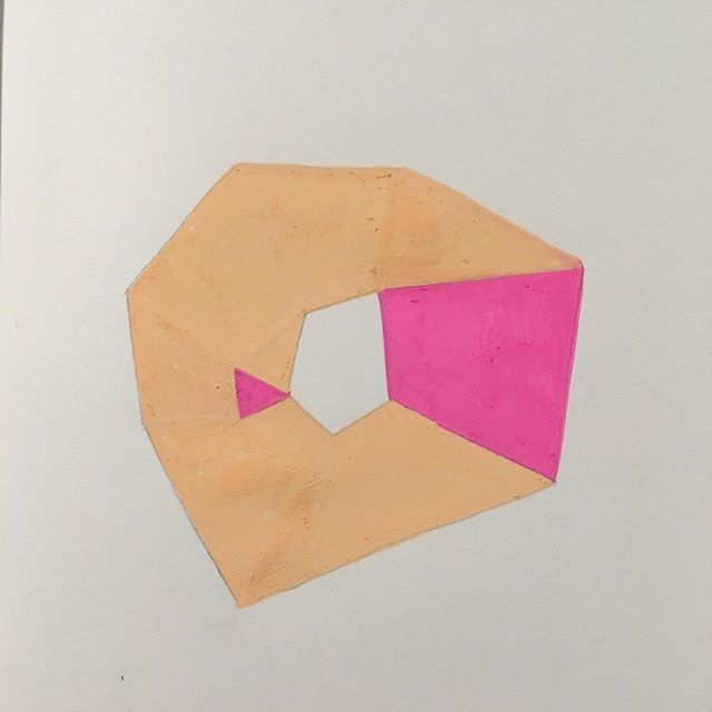 Sketchbook. #drawing #study #abstract #contemporary #embroidery #minimal #form #colour