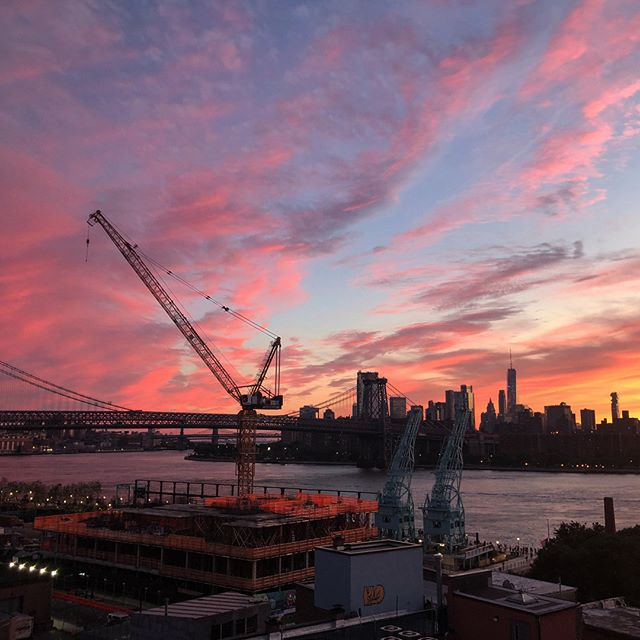 Yesterday's sunset 🏆