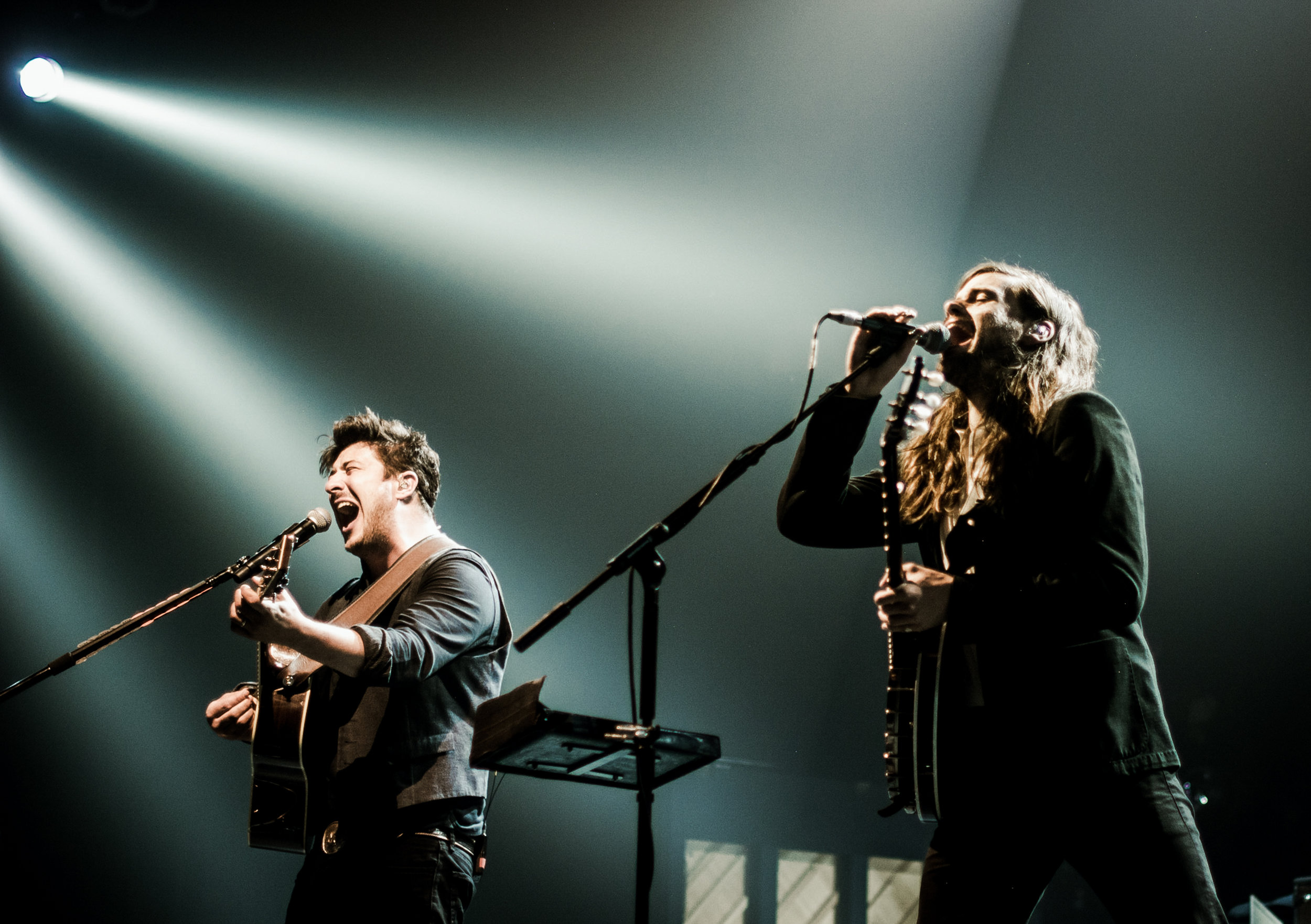 Mumford & Sons - Shot for Prelude Press